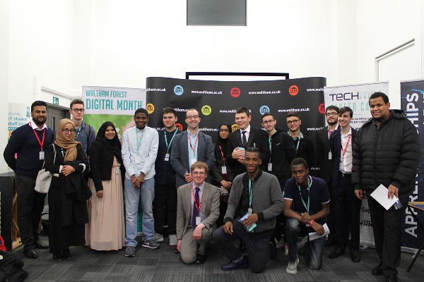 Techcamp connects young people to global tech employers Apple, Google and Amazon