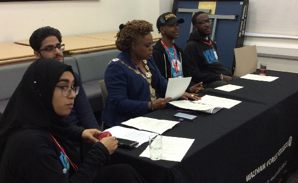 Teens and Young People 'Have Their Say' at the Mayor's First Youth Summit
